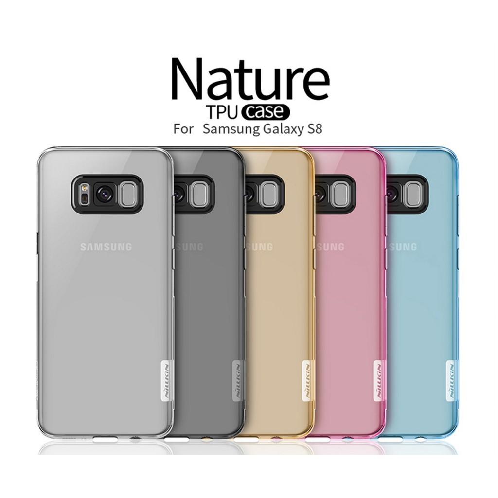 Samsung Galaxy S8 - เคสใส Nillkin Nature TPU CASE สุดบาง แท้ - เคสซัมซุง