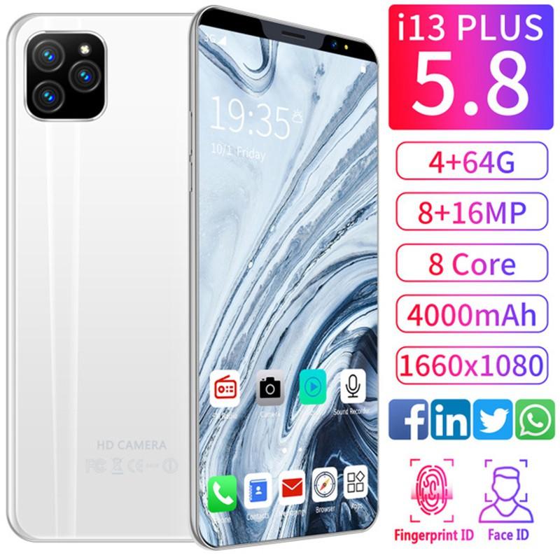 vivo i11 โทรศัพท์ล่าสุดของแท้ 100% 5.8 นิ้วเต็มหน้าจอ 4G vivo สมาร์ทโฟน Face Recognition 4 + 64GB มือถือราคาถูก