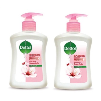 Dettol เดทตอล เจลล้างมืออนามัย สูตรหอมสดชื่น 99.99% มี3 สี