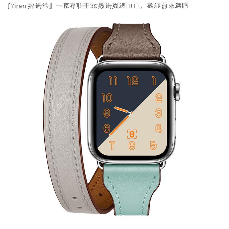 สายนาฬิกาข้อมือหนังแท้สําหรับ Apple Watch