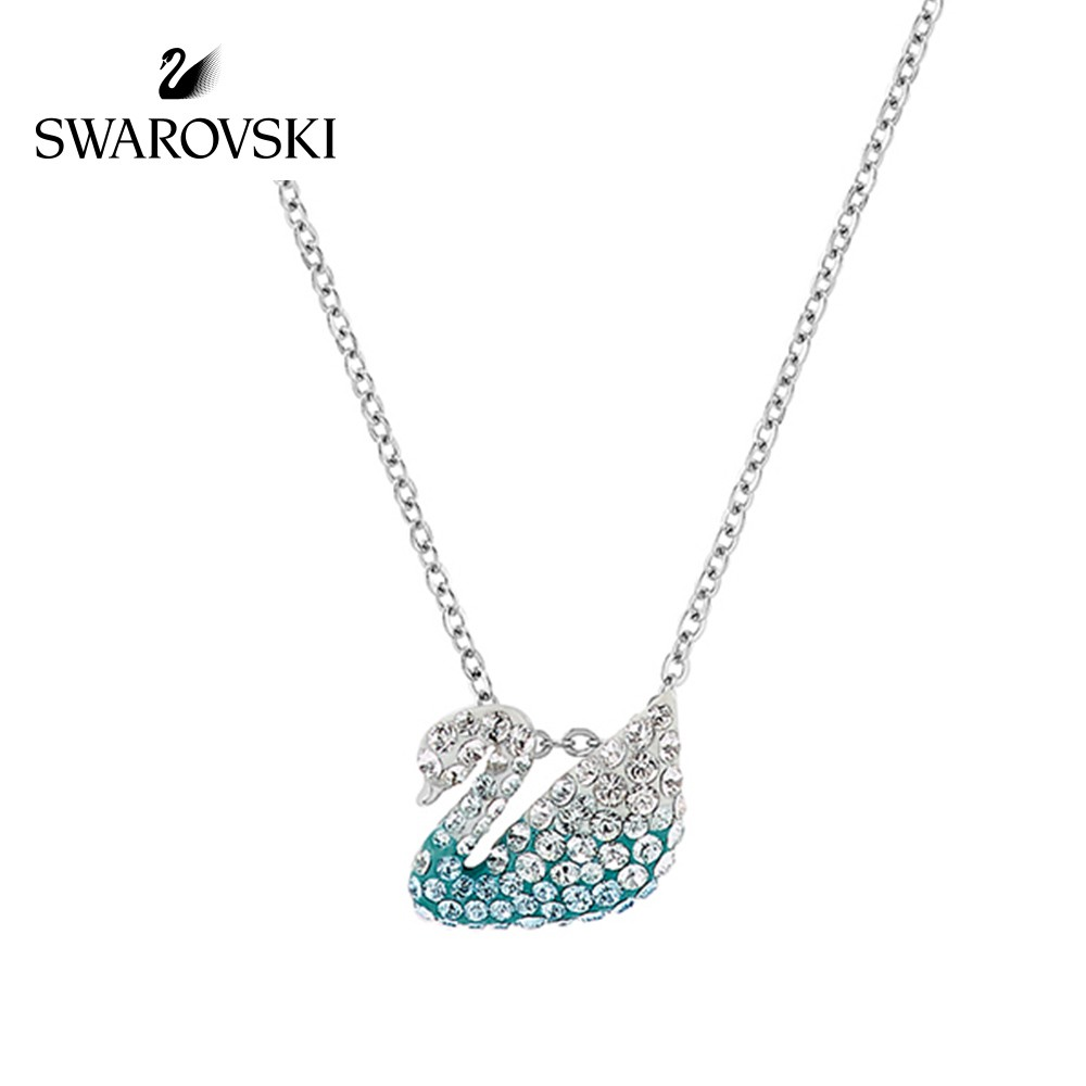 【SALE】พร้อมส่งSwarovskiแท้ สร้อย swarovski ของแท้ ของแท้ 100% สร้อยคอจี้หงส์ swarovski necklace แท้ Swarovski Classi tGR