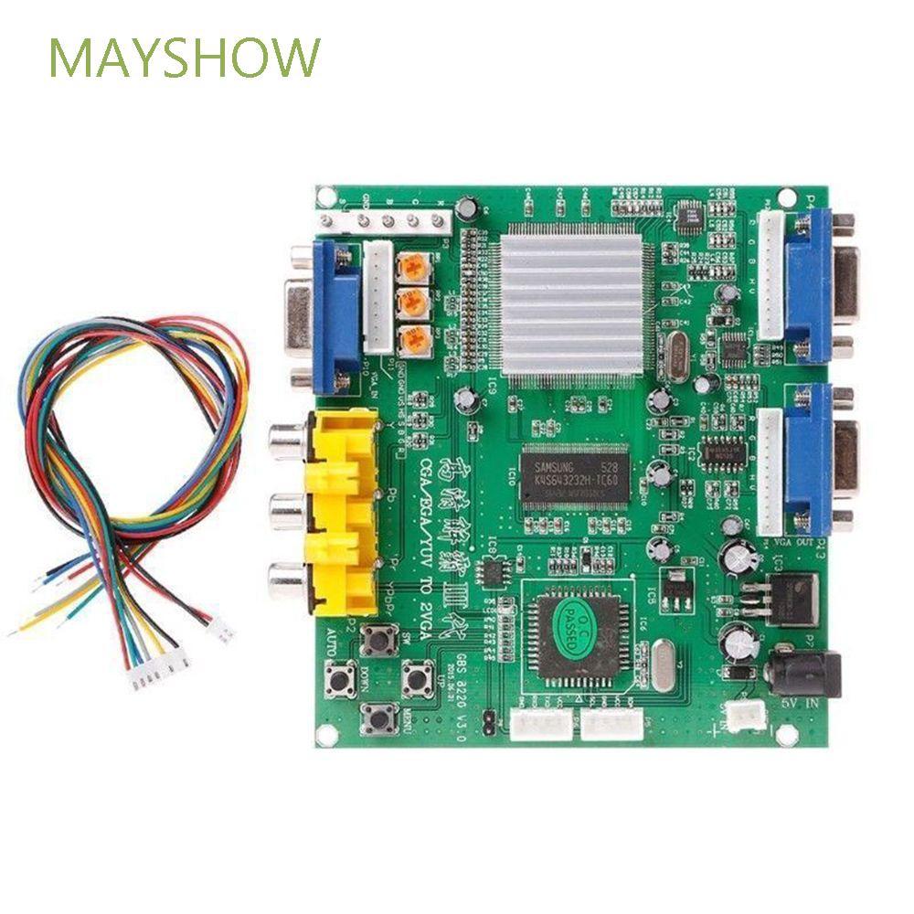 Mayshow โมดูลหน้าจอมอนิเตอร์ Hd วิดีโอเกม Dual Output Gbs 8220