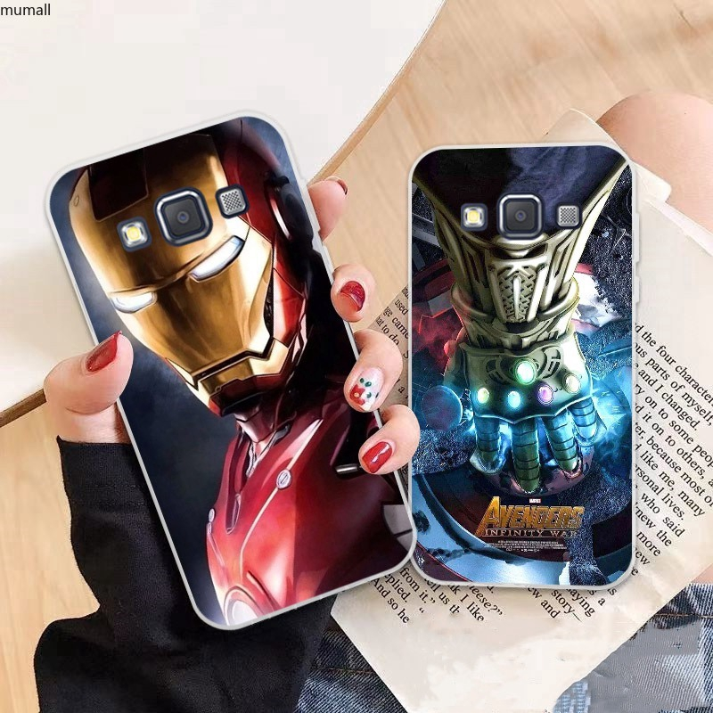 Samsung A3 A5 A6 A7 A8 A9 Star Pro Plus E5 E7 2016 2017 2018 Avengers pattern-6 Soft Silicon Case Cover