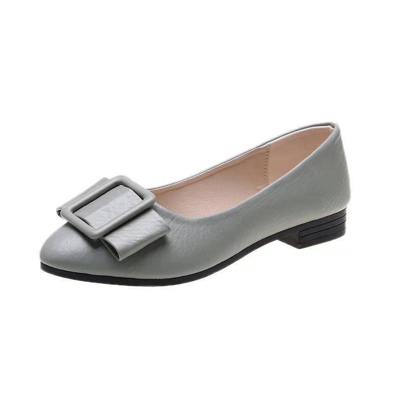 ส้นสูง 2.5รองเท้าส้นสูงส้นสูง 5.5☑รองเท้าคัชชูแฟชั่น รุ่นTP35