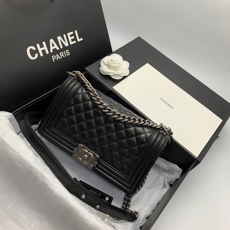 กระเป๋า Chanel Boy Lamb skin   งานออริOriginal🖤🖤