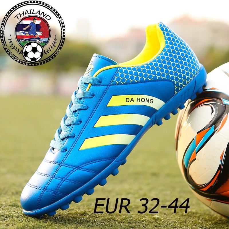 5dba40bf14 >สต็อกพร้อมจัดส่งฟรี<รองเท้าฟุตซอลหนังวัวสีดำ ฟรี ถุงเท้า FUTSAL FOOTBALL  SHOES SOCCER SHOES