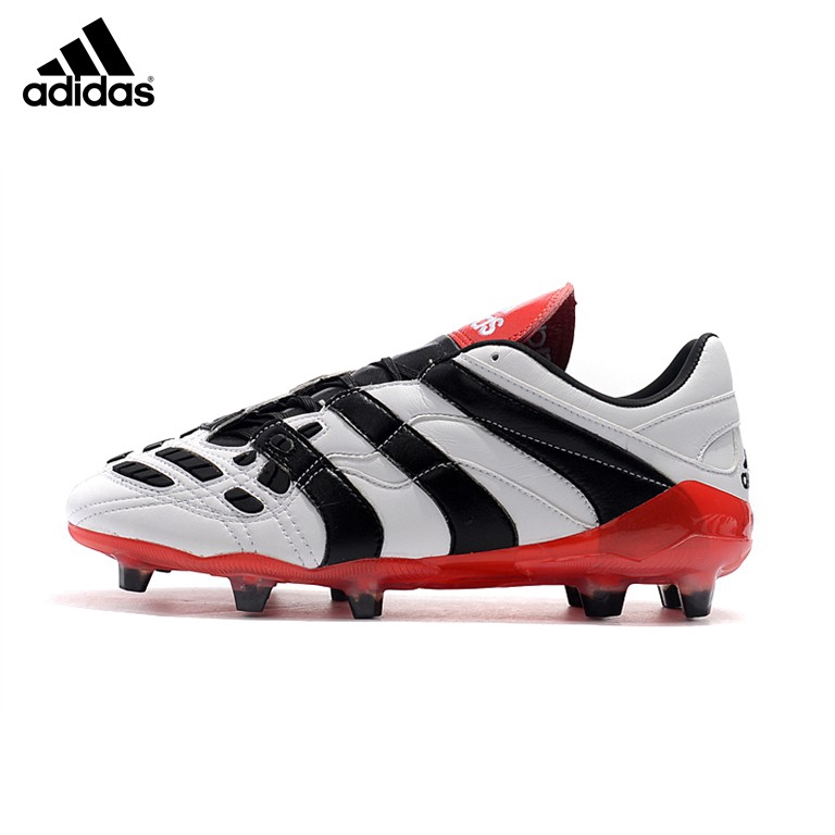 Adidas Predator Accelerator Dream Back 98 Falcon รองเท้าฟุตบอลสีขาวดำ FG