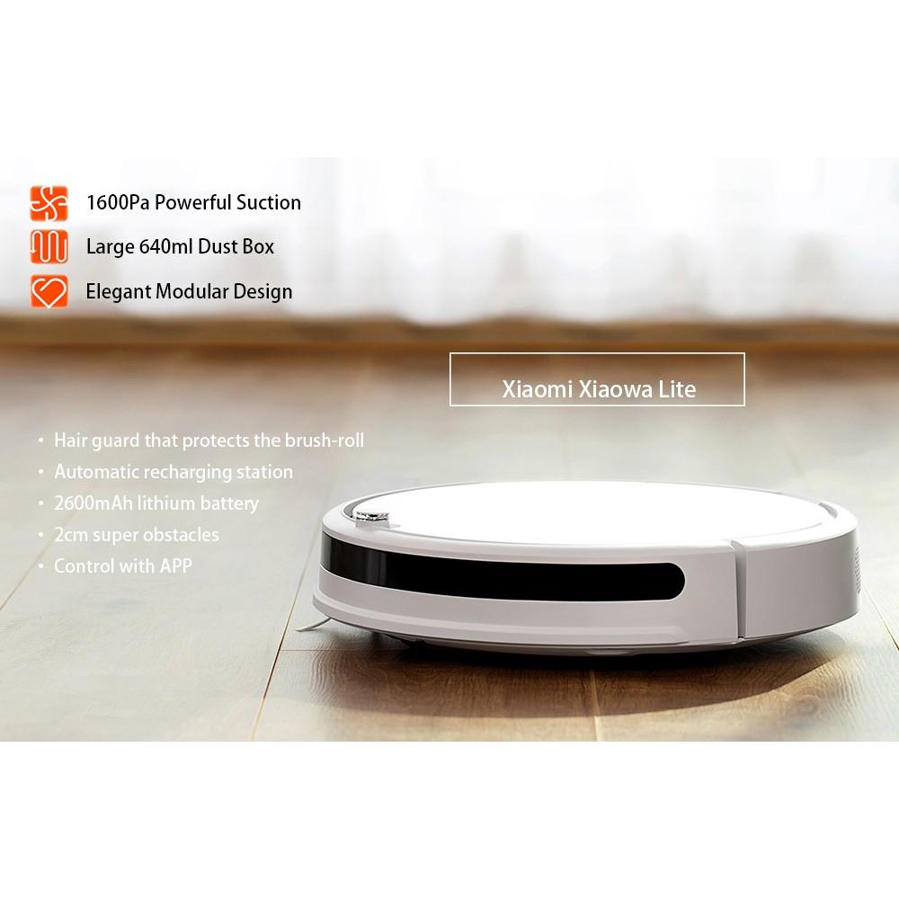 หุ่นยนต์ดูดฝุ่น Xiaomi Xiaowa Robot Vacuum (Youth Version)-flashsale hvOZ