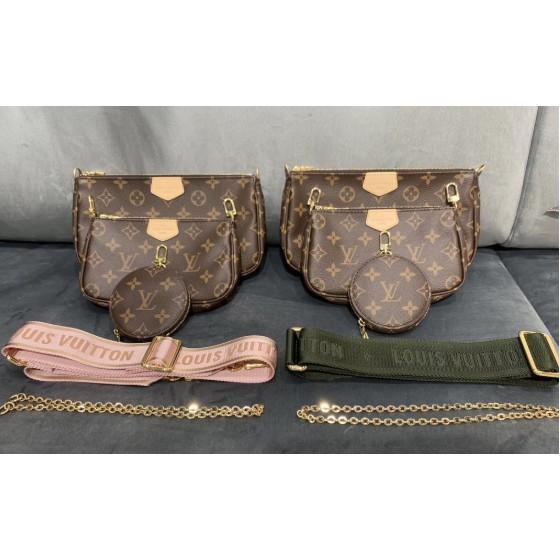 Lv Louiston Multi Pochette Dc19ของแท้ 100%กระเป๋าแบรนด์เนม #กระเป๋าหิ้ว