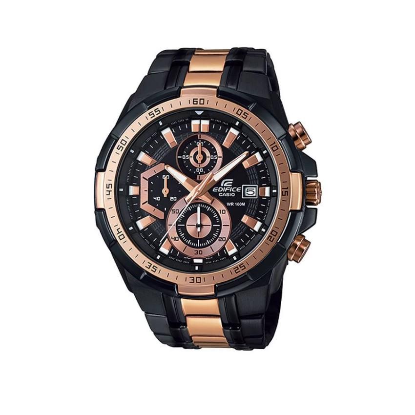 Casio Edifice นาฬิกาข้อมือผู้ชาย สายสแตนเลส รุ่น EFR-539BKG-1