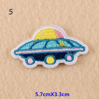 Patch Iron-On or Sew-On Skateboarder  Embroidered Applique