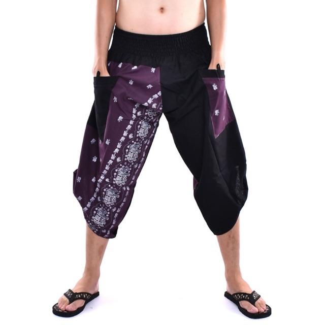Samurai pants กางเกงซามูไรลายช้าง