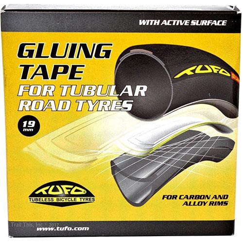 2 x TUFO GLUING TAPE FOR TUBULAR ROAD TYRES 19mm