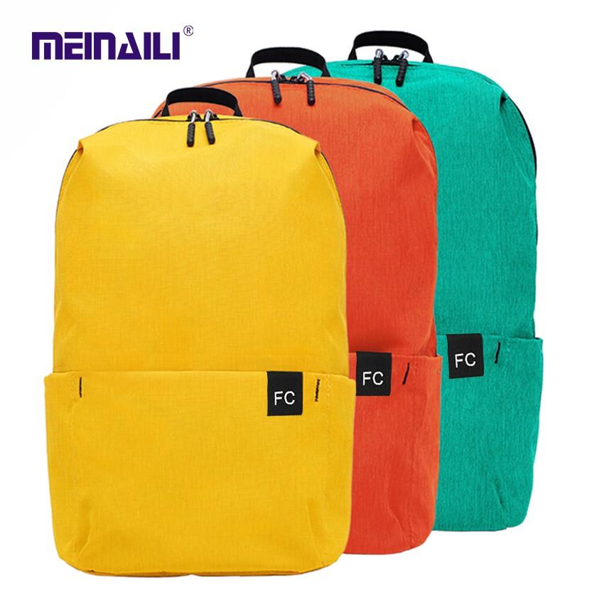 (Mei Nai Li) ลดกระหน่ำ!! Backpack กระเป๋าเป้สะพายหลัง ใบเล็ก กระเป๋าเป้ กระเป๋าเป้ผู้หญิง กระเป๋าเป้เดินทาง กระเป๋าสะพาย