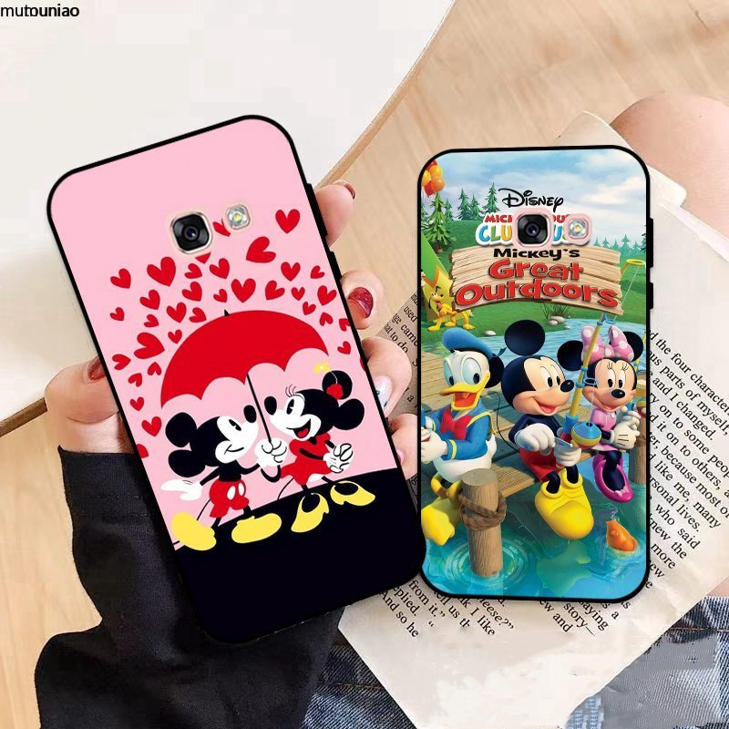 Samsung A3 A5 A6 A7 A8 A9 Pro Star Plus 2015 2016 2017 2018 Disney Pattern-5 Silicon Case Cover