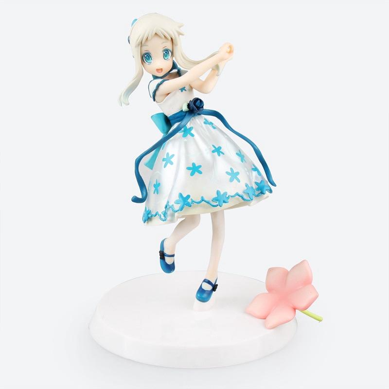 ของเล่นฟิกเกอร์ Anohana menma Meiko Maid Ver . Action Figure 18 ซม.