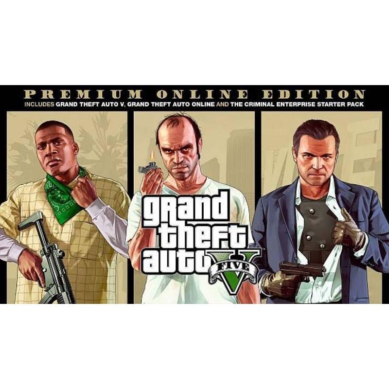 GTA V ONLINE PREMIUM EDITION | Original Epicgames Akun | Pc Only