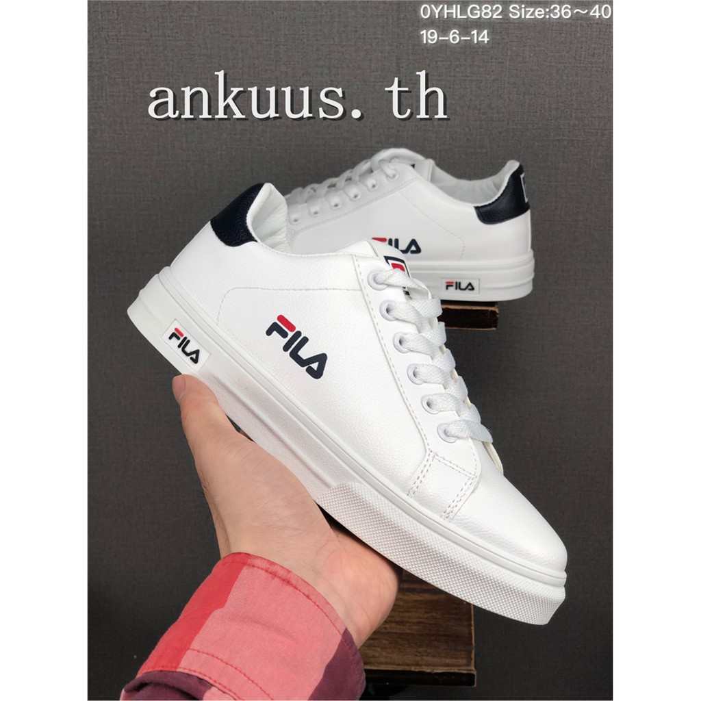 ราคาพิเศษ🎀  FILA รองเท้าผู้ชาย / รองเท้าสตรี รองเท้ากีฬา รองเท้าวิ่ง รองเท้าลำลอง รองเท้าคู่ 3