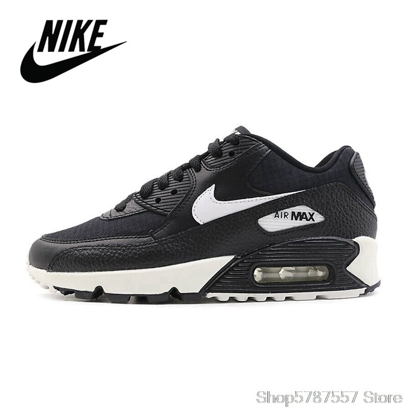 NIKE Air Max 90 Women's Running Shoes Outdoor Sports Shoes Trend New Sports Shoes Tenis Nike AirMax 90 325213-060