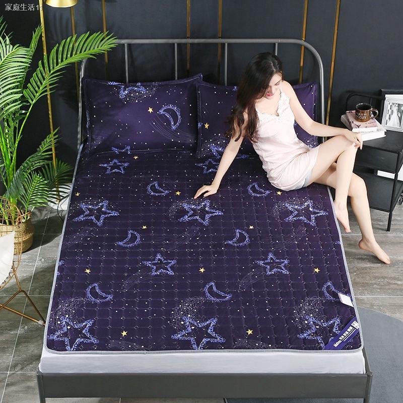 ﹊ผ้ารองกันเปื้อน & topperบาง ที่นอนกันลื่น, ที่นอนบาง ผ้ารองกันเปื้อนที่นอน ขนาด 3.5 ฟุต 5 ฟุตและ 6