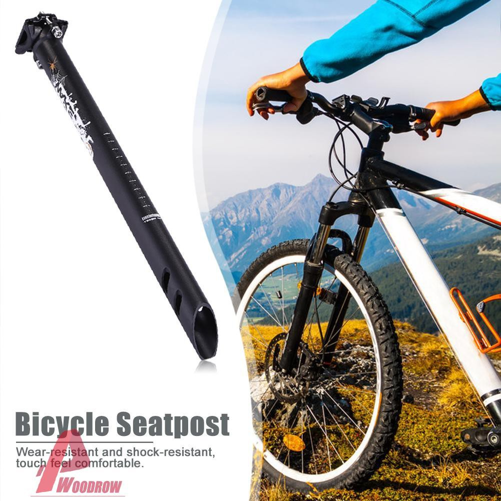 Bike Reduce Resistance Seatpost Double Nail Seat Tube Outdoor Bicycle Tool Part