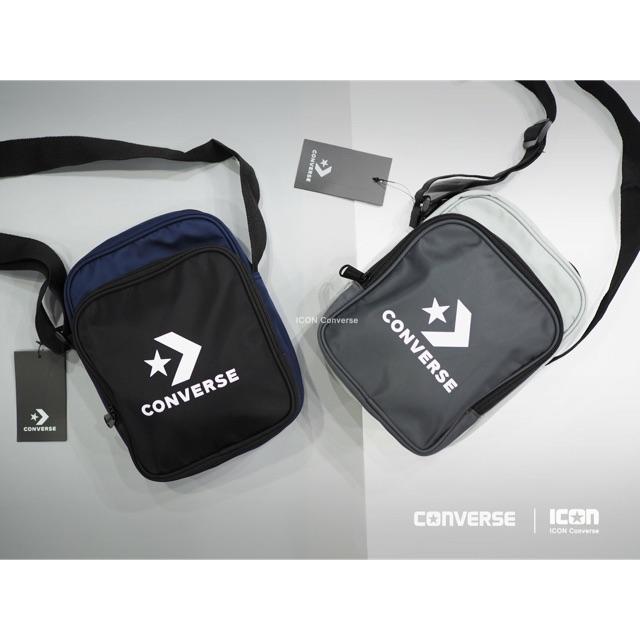 c5a99d60f3d0 Converse Gratify Messenger Bag กระเป๋าสะพายข้างหนัง