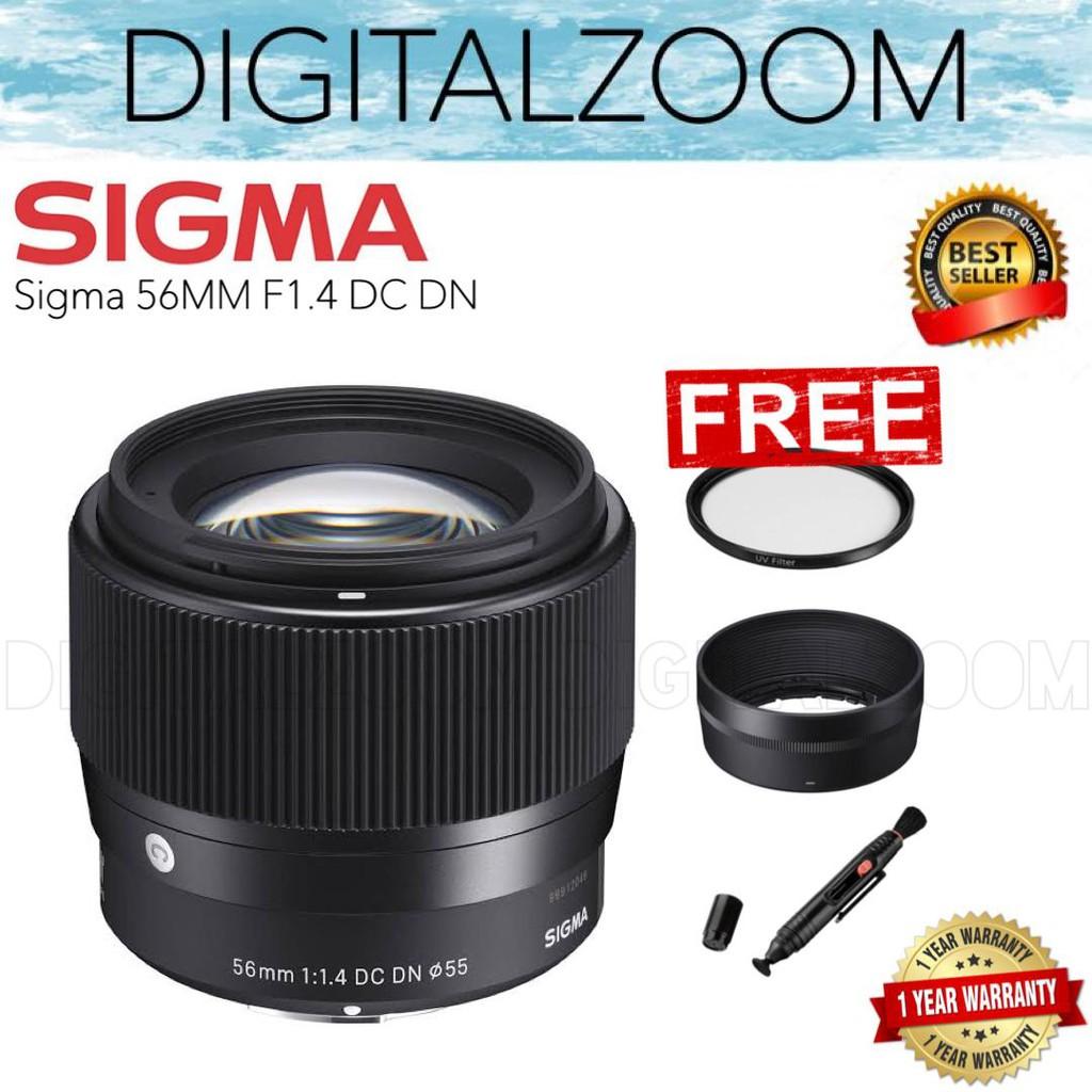 อุปกรณ์เสริมสําหรับ Sony Sigma 56mm F1.4 Dc Dn