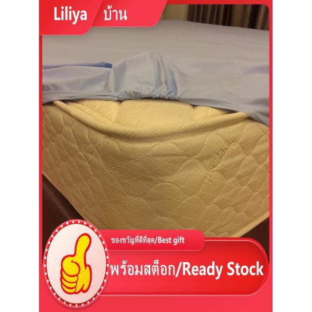 ที่นอน topper 3ฟุต,3.5ฟุต,5ฟุต,6ฟุต,7ฟุต,8ฟุต ผ้าปูรองที่นอนกันน้ำ กันฉี่ กันไรฝุ่น ประจำเดือน 100% ผ้าปูกันน้ำ ผ้าปูที่