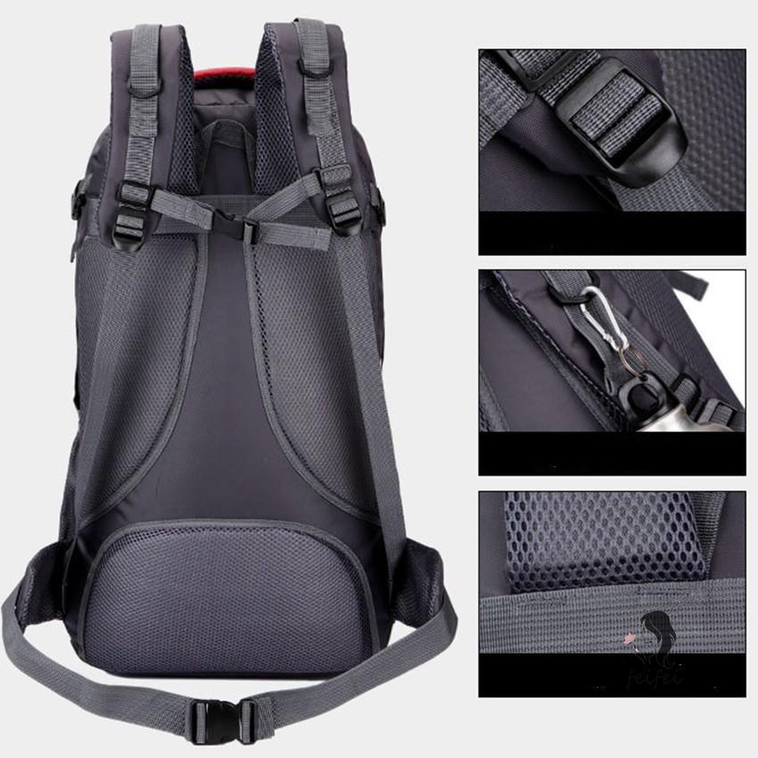 ❂▬(Mei Nai Li) ลดกระหน่ำ!! Backpack 60L. กระเป๋า กระเป๋าเดินทาง กระเป๋าสะพายหลัง กระเป๋าเป้เดินทาง กระเป๋าเป้สะพายหลัง
