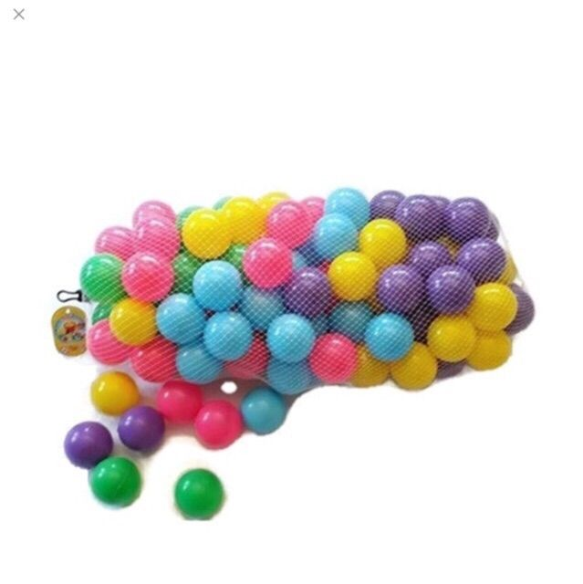 บอลหลากสี 100 ลูก ขนาด 2.8 นิ้ว