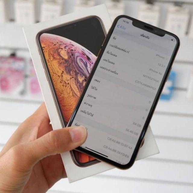 iPhone XS 64GB (TH) แท้ศูนย์ไทย มือสอง