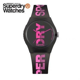 Review นาฬิกาแฟชั่น Superdry Analogue Quartz Watch with Silicone Strap มี 7 สี