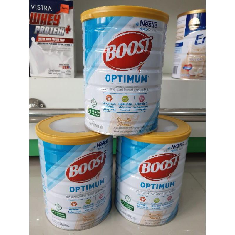 Nestle boost optimum vanila 800g