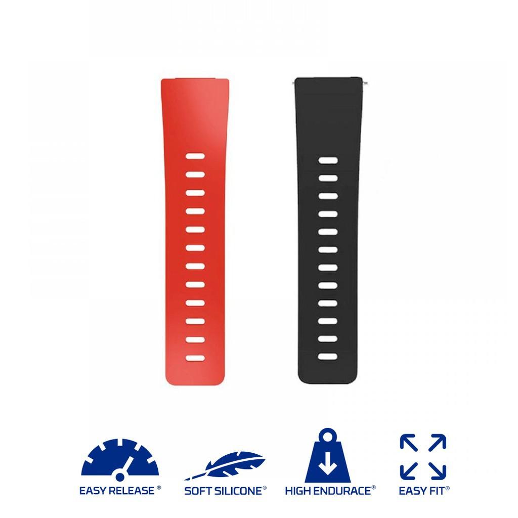สาย applewatch แท้ สาย applewatch Fitbit Versa / Versa Lite / Versa 2 - Silicone สายซิลิโคนสำรอง (Premium) สำหรับ Versa