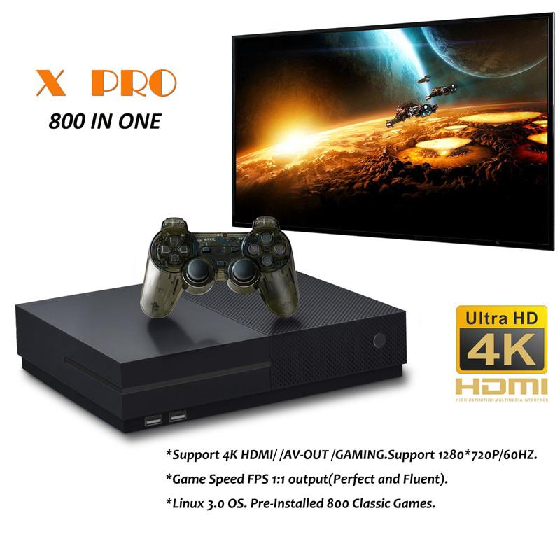 64 bit Support 4K HDMI Output Video Game Console Retro 800