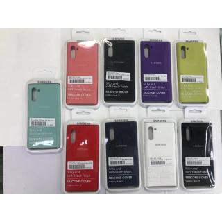 Review Samsung Galaxy A10 A20 A30 A50 A70 M10 Silicone Matte Case Cover โทรศัพท์มือถือ