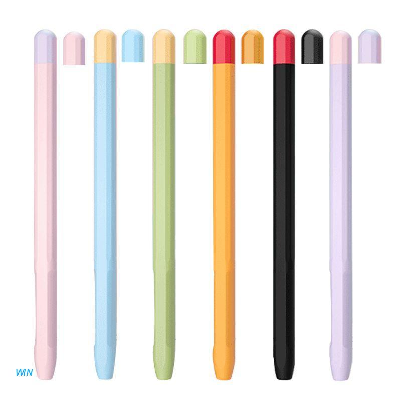 🔥 เคสซิลิโคนสีสันสดใสสําหรับ Apple Pencil 2 case สําหรับ IPad 2 case