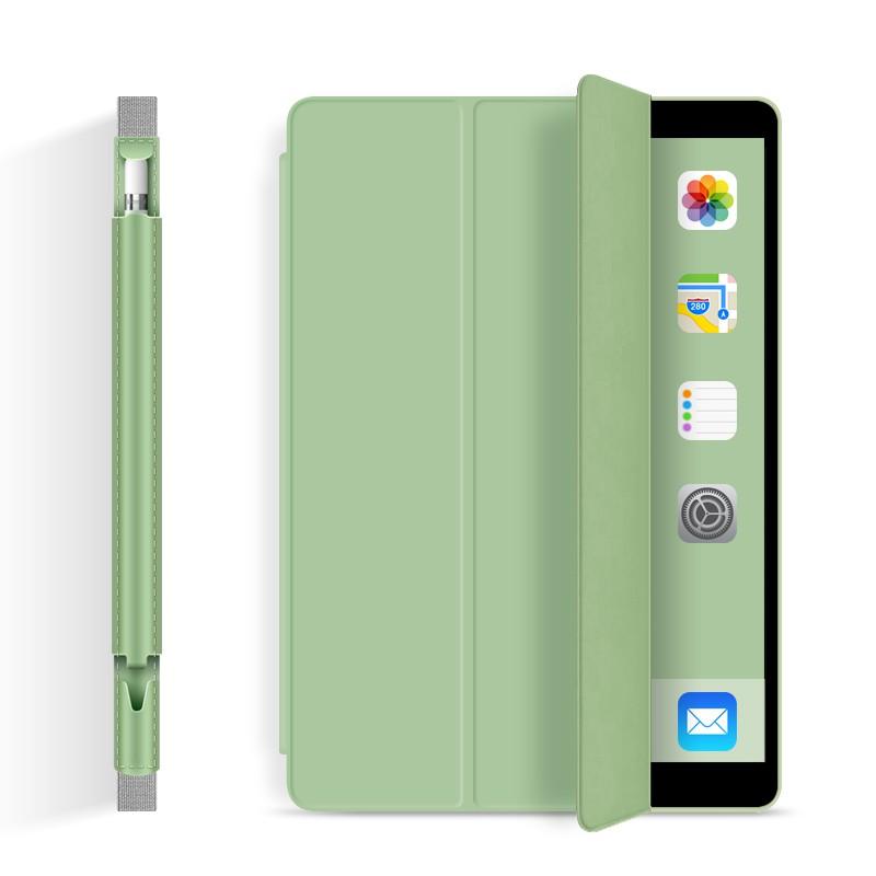【เคส ipad】ปลอกป้องกัน Applepencil iPad2018 ที่เก็บปากกา Apple stylus air2 pro10.5 นิ้ว iPad10.2 ใหม่ air3 เคสปากกาแบบ