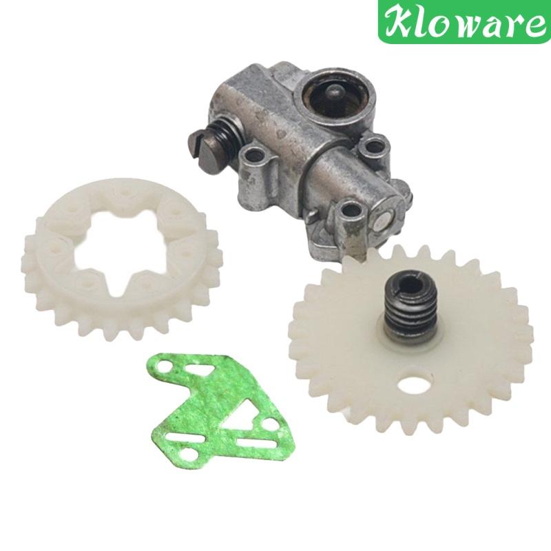 [KLOWARE] Oil Pump Worm Spur Gear Wheel Set for Stihl MS028 038 048 380 381 Chainsaw