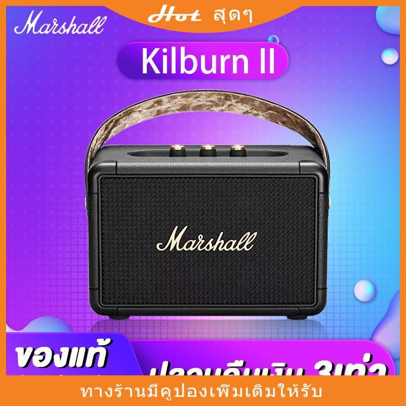 Marshall Kilburn II Black ทองดำ ลำโพงบลูทูธ มาร์แชล ลำโพงบลูทูธเบสหนัก ลำโพงคอมพิวเตอร์ ลำโพง Bluetooth ประกัน 1 ปีลดพิเ