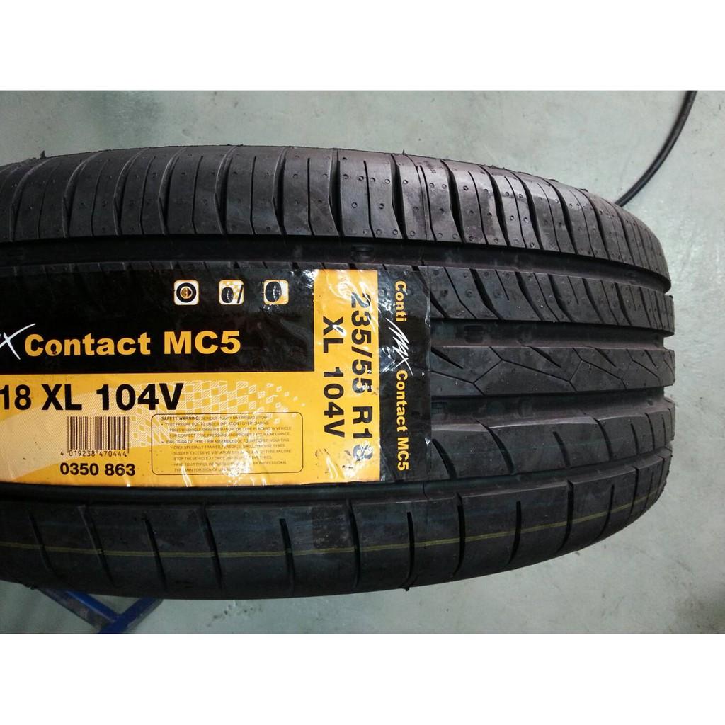 ยางรถยนต์ CONTINENTAL MC5 215/50R17