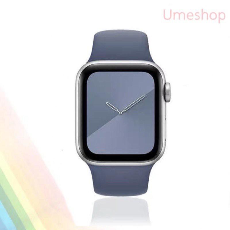 พร้อมส่ง‼️สาย สำหรับ Apple Watch สีมาใหม่ series 6 5 4 3 2 1 สำหรับ applewatch ขนาด  42mm 44mm 38mm 40mm eJuC