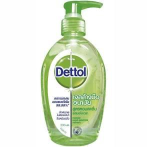 EXP:10/2023 Dettol เดทตอล เจลล้างมืออนามัย 200 มล.ผสมอโลเวล่า