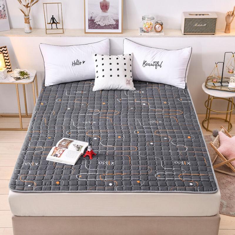 ที่นอนบาง, ผ้ารองกันเปื้อน & topperบาง ที่นอนกันลื่น, ที่นอนบาง ผ้ารองกันเปื้อนที่นอน ขนาด 3.5 ฟุต 5 ฟุตและ 6 ฟุต