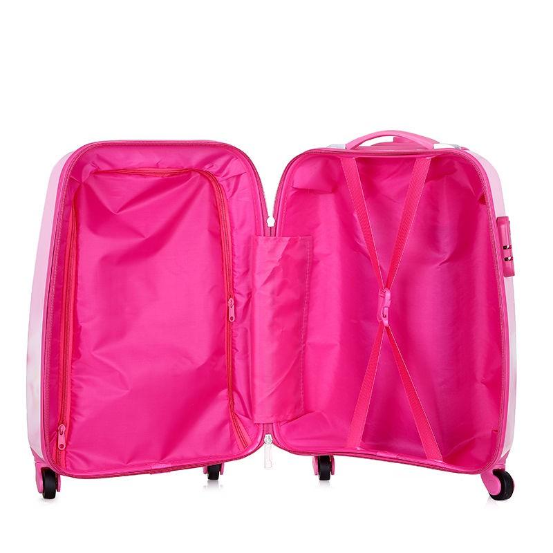 ►♛รถเข็นเด็ก Frozen กระเป๋าเดินทางชาย 18 ล้อสากลกระเป๋าเดินทางน่ารักกระเป๋าเดินทางการ์ตูนกระเป๋านักเรียนหญิง