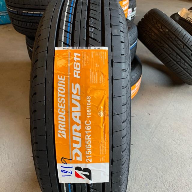 Bridgestone Duravis R611 215/65R16 ยางใหม่ปี19