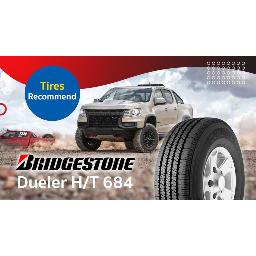 265/65R17 Bridgestone Dueler D684  ราคารวมติดตั้ง ผ่อน 0% 10 เดือน