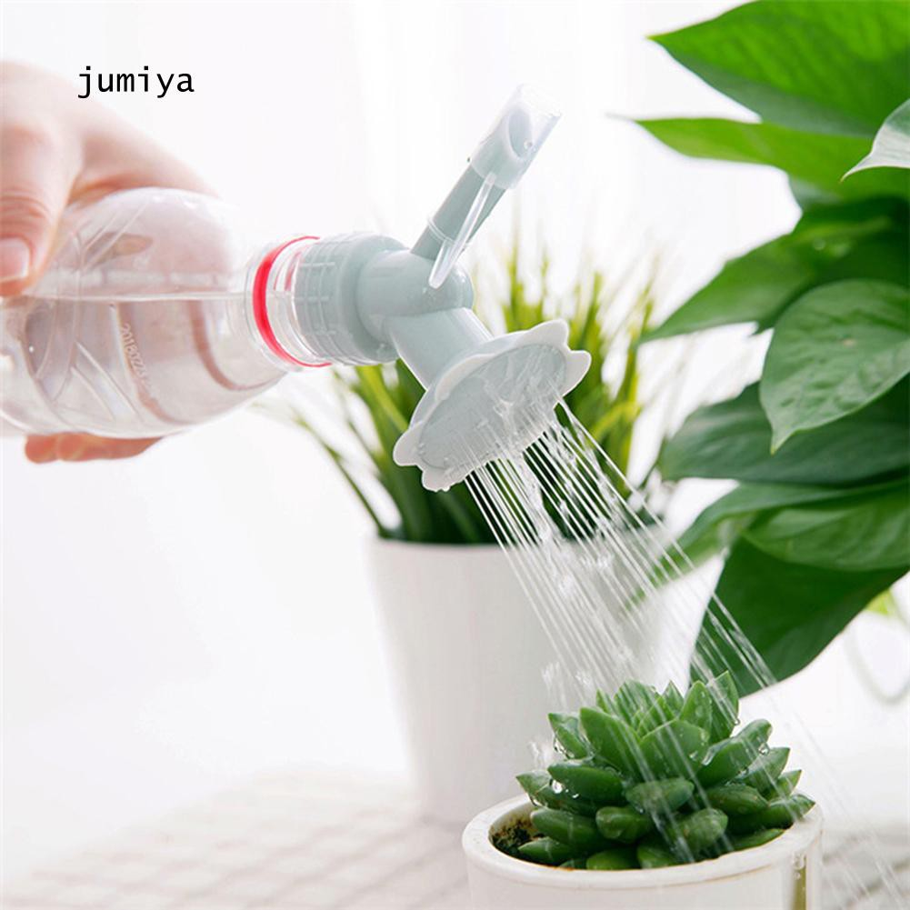 Plastic Sprinkler Nozzle Watering Bottle Water Cans for Flower Plant Irrigation
