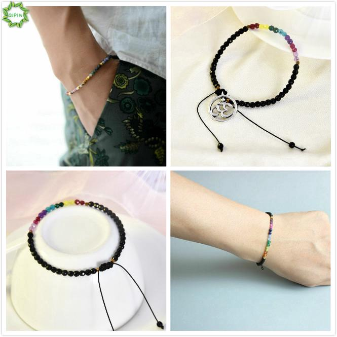 Ciyoon Bangle Bracelets for Women Birthday Gifts Bangle Adjustable Beads Sea Turtle Anklet Beach
