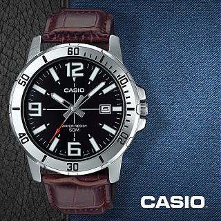 มาใหม่!!ร้านค้าแนะนำ ราคาถูกที่สุด  (แท้ 100%) นาฬิกาข้อมือผู้ชายสายหนัง Casio รุ่น Mtp-Vd01l-1bv - มั่นใจ ของแท้ 100% รับประกันสินค้า 1 ปีเต็ม  ของขวัญ นาฬิกาผู้ชาย นาฬิกาแฟชั่น 2020 นาฬิกาข้อมือ นาฬิกาลำลอง นาฬิกาเกาหลี Watch For Men.